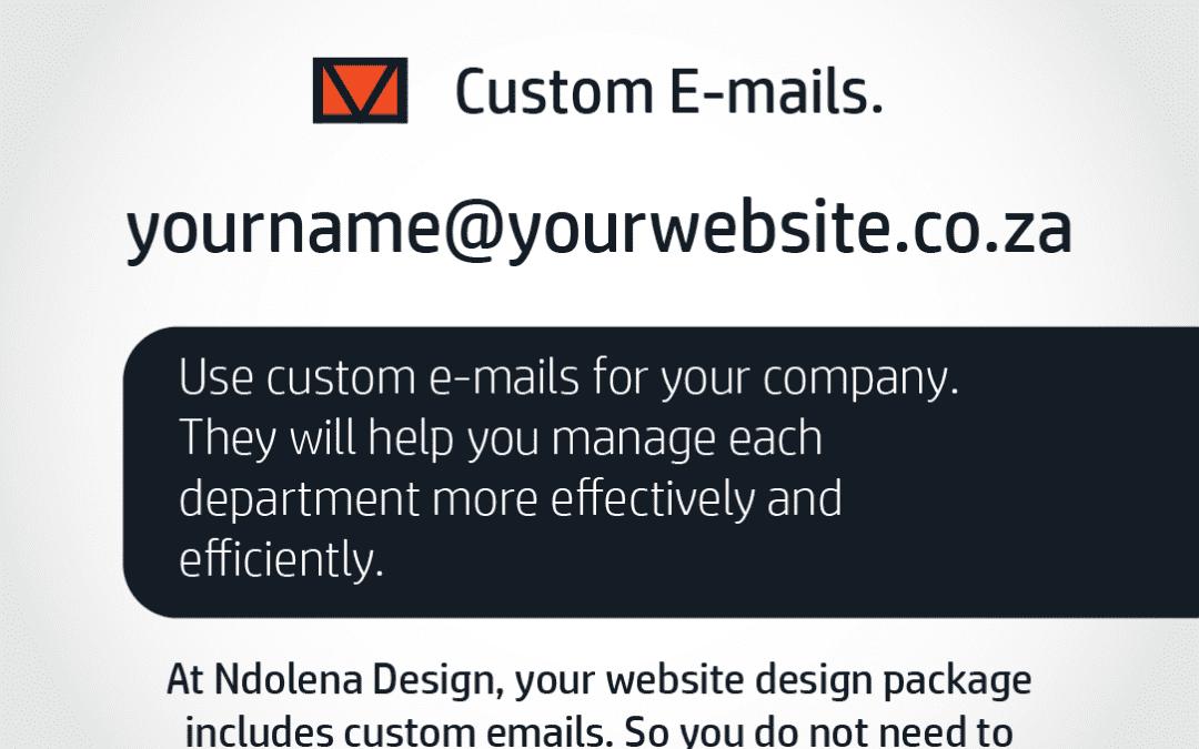 Get custom emails